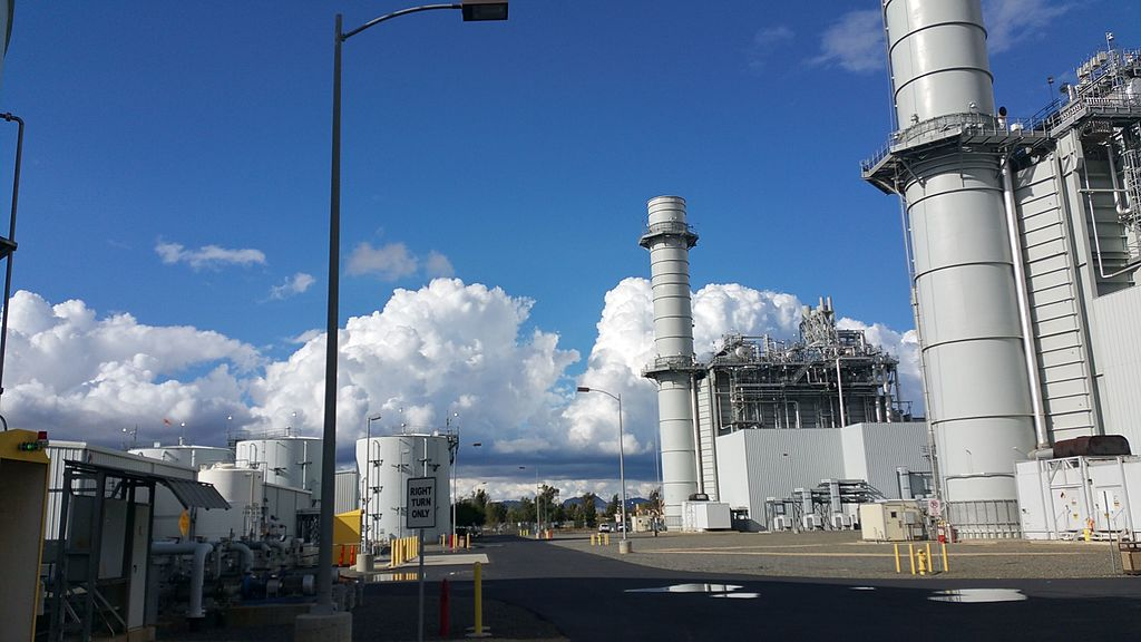 Inland Empire Energy Center in Romoland CA. Facing North, Units 1 and 2 visible.