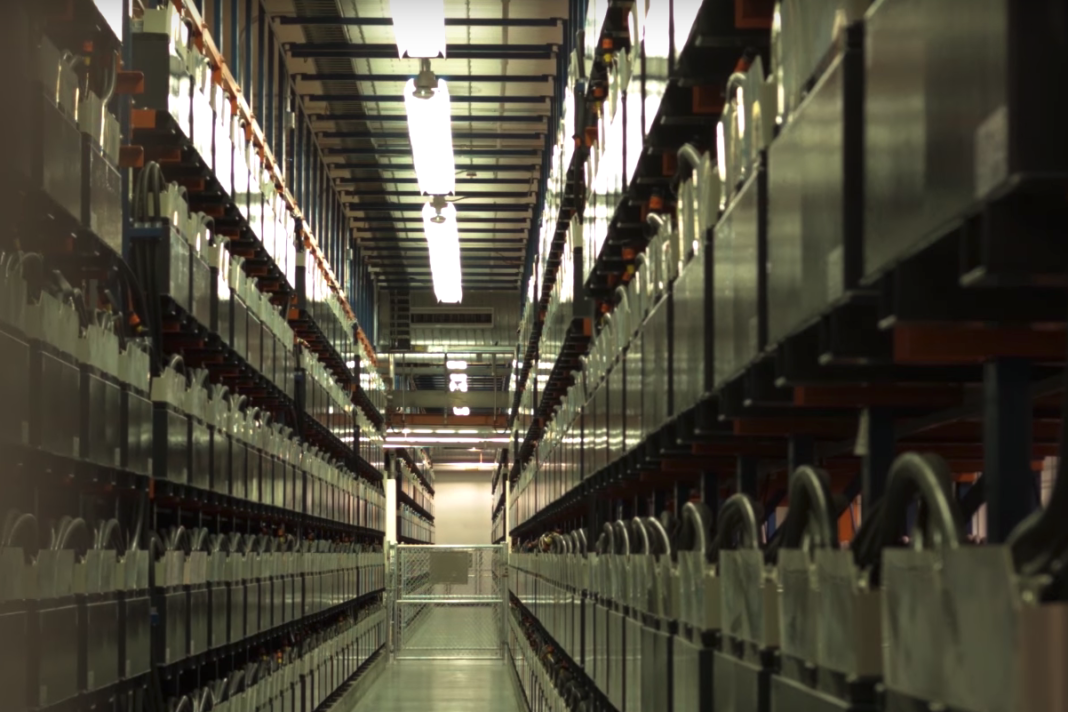 GVEA - World's Largest Battery System. Credit:ABB