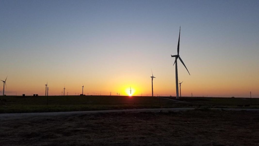 Tyler Bluff Wind Farm. (Photo: Business Wire)