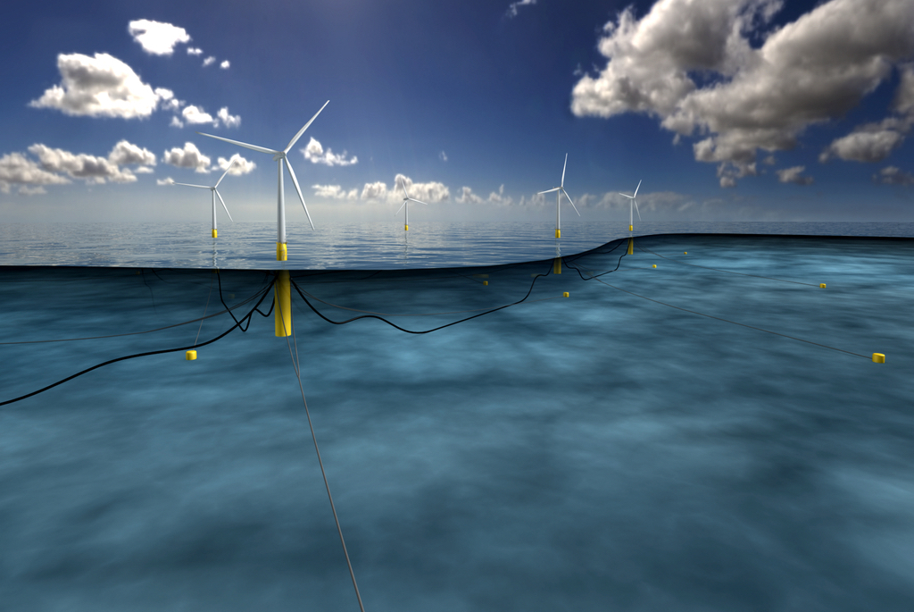 Statoil has made a final investment decision to build the world's first floating wind farm: Hywind pilot park off the coast of Peterhead in Aberdeenshire, Scotland.