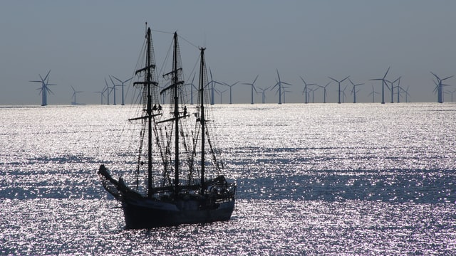 Offshore Wind with Boat