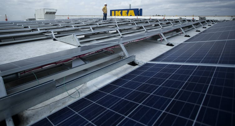 Why companies as diverse as eBay, IKEA and Mars are increasingly supporting US clean energy policies