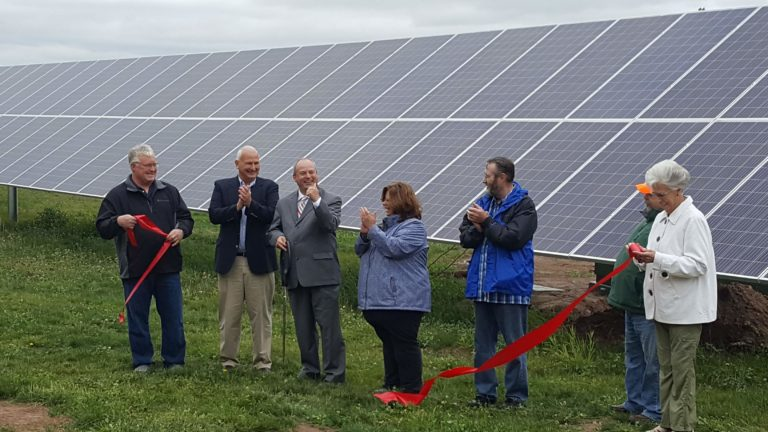 Using a community solar model to expand access to low- and moderate-income communities