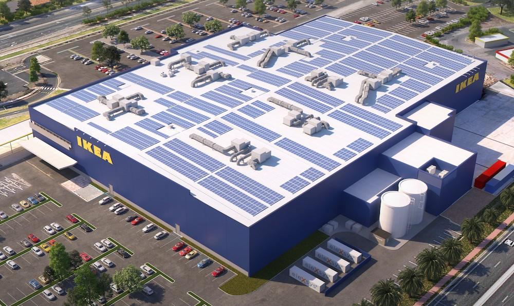 Ikea clean energy