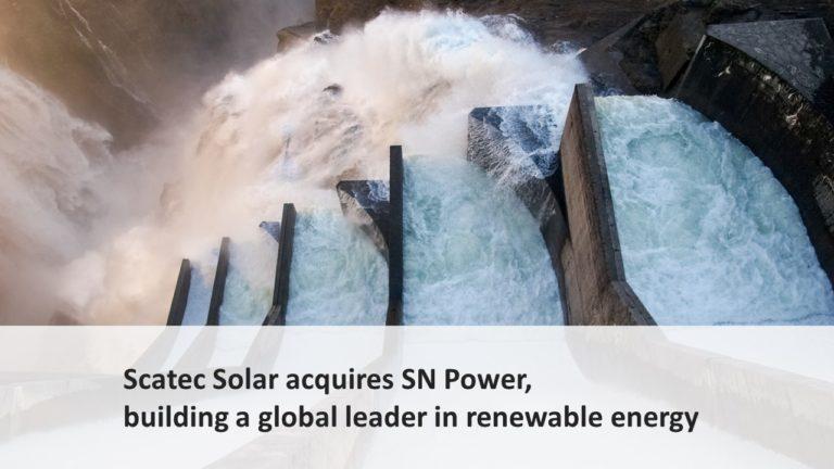 Scatec Solar acquiring Norwegian hydropower developer SN Power