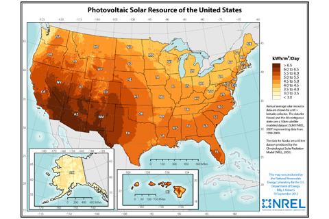 Solar PV Map