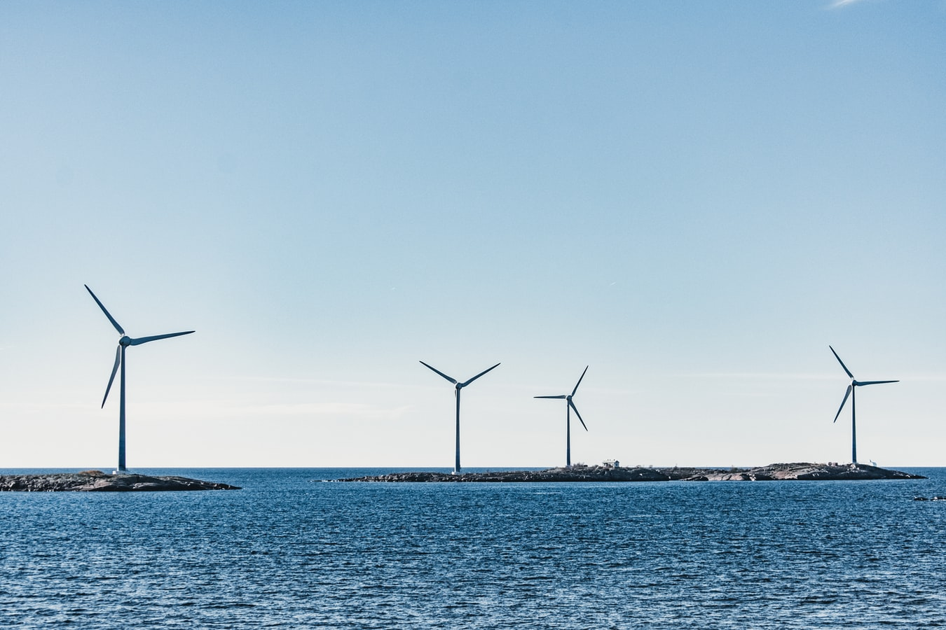 Offshore Wind over Sea
