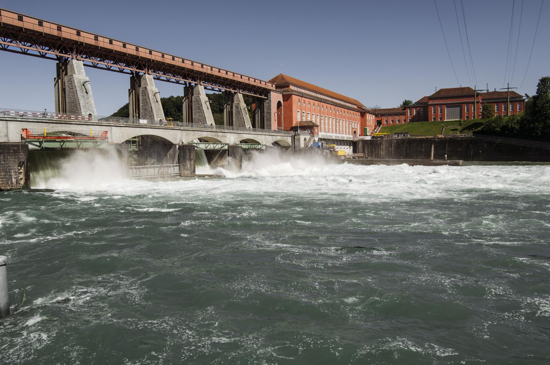 Eglisau-Glattfelden hydropower