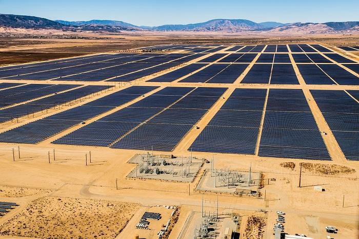 solar pv in a field