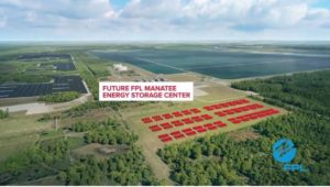 FPL's 900-MWh energy storage project receives first battery unit installations